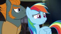 Rainbow Dash in disbelief S6E13