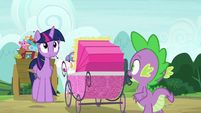 "Spike ""only four-and-a-half minutes late"" S7E3"