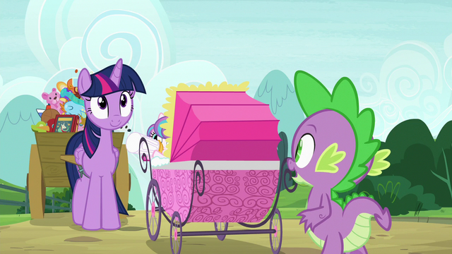 """File:Spike """"only four-and-a-half minutes late"""" S7E3.png"""