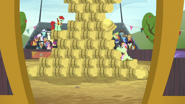 File:The hay bale stack event continues S5E6.png