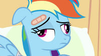 Weird face Rainbow Dash S2E16