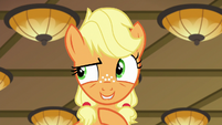 "Young Applejack ""take a left, then a right"" S6E23"