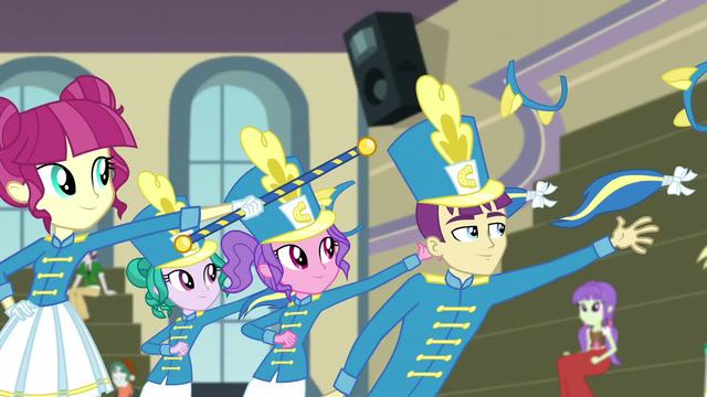 File:Band members throwing out ears and tails EG3.png