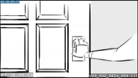 EG3 animatic - Twilight opening a door