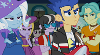 Flash, Trixie, and other bands unimpressed EG2