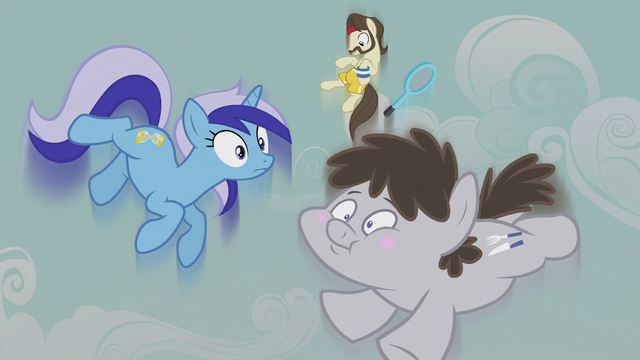 File:Minuette, Ace, and Truffle flying upward S5E9.png