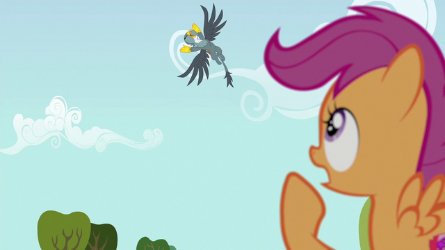 "File:Scootaloo ""you didn't let me finish!"" S6E19.png"