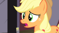 "Applejack ""as long as it works"" S4E20"