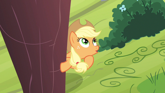 File:Applejack progress going bad S3E8.png