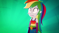 Rainbow Dash shocked by the competition SS3