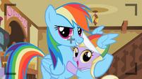 Rainbow Dash with Dinky S2E08