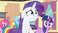 Rarity 'I let one of the other contestants...' S4E08