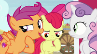 "Scootaloo ""did you see the way he was acting?"" S7E8"