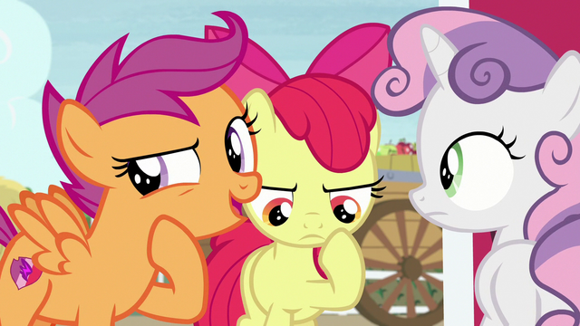 """File:Scootaloo """"did you see the way he was acting?"""" S7E8.png"""