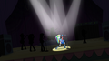 All spotlights on Rainbow Dash EG2.png