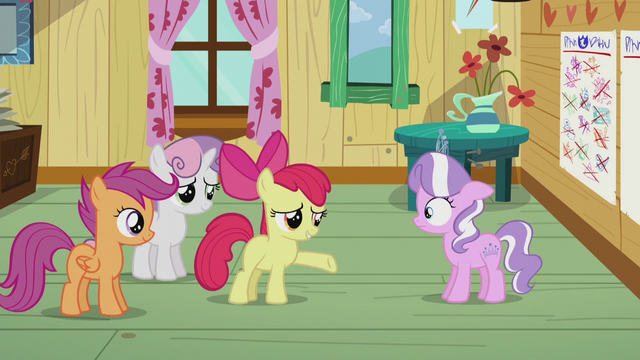 """File:Apple Bloom """"you've done that, right?"""" S5E18.png"""