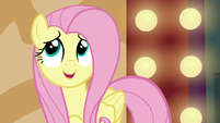 "Fluttershy ""that adorable bunny from the acrobat's act"" S6E20"