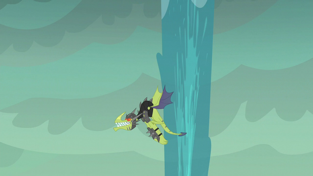 File:Green dragon flies around water spout S6E5.png