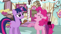 Pinkie Pie 'A care package it is!' S3E07