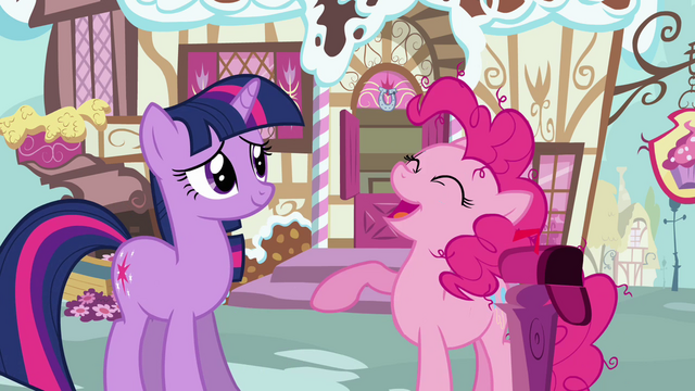 File:Pinkie Pie 'A care package it is!' S3E07.png