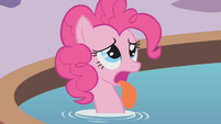 Pinkie Pie explains how horrible it was not being able to talk S1E09