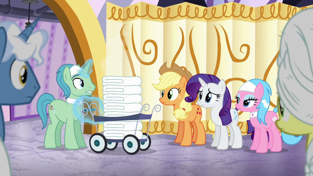 File:Ponies staring at Spa Worker S6E10.png