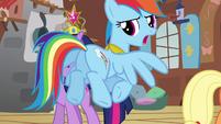"""Rainbow Dash """"we'll be outside"""" S03E10"""
