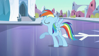 Rainbow Dash looking proud S3E2