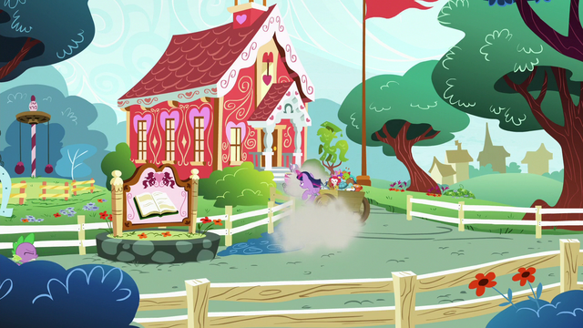File:Twilight screeches to a halt in front of schoolhouse S7E3.png