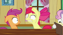 Apple Bloom Scaring Scootaloo S2E17