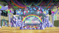 Crystal Rainbooms' stage in the CHS gym EGS1.png