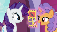 Nasal Pony asks about the Princess Dress S5E14