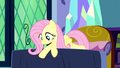 Fluttershy pointing at Princess Luna S5E13.png