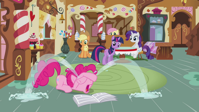 "File:Pinkie Pie's tear fountain ""It's true! I do have a problem!"" S02E23.png"