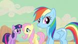 Rainbow Dash hears truth S2E14