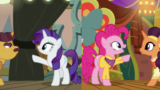 File:Rarity and Pinkie reach out to their partners S6E12.png
