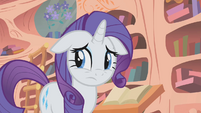 Rarity having a bad feeling S1E8