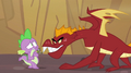 Scared Spike looking at Garble S2E21.png