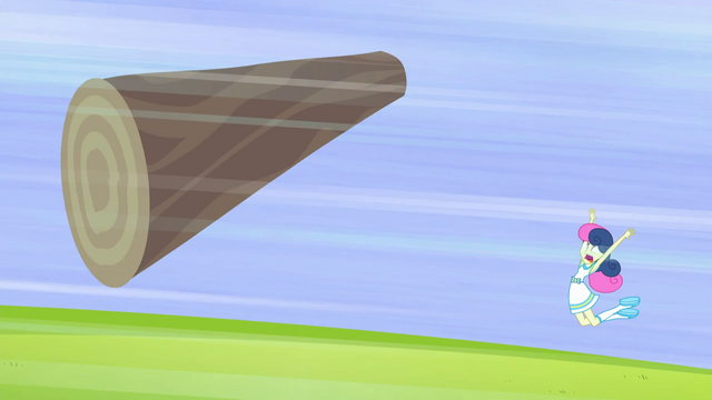 File:Sweetie Drops tossing a log EG3.png