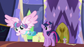 Flurry Heart flies away from Twilight S7E3.png