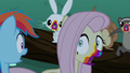 Fluttershy turned into a cookie zombie S6E15.png
