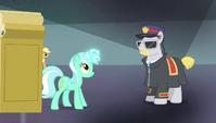 Lyra steps through magic-disabling device S4E24