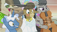 Matilda, Octavia, and others in deep shock S5E9