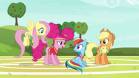 "Pinkie Pie ""we were running out of unicorns"" S6E18"