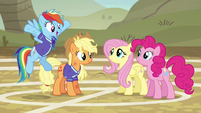"Rainbow ""makes you really, really, really good!"" S6E18"