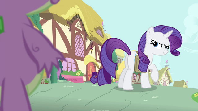 File:Rarity looking at Spike slyly S4E23.png