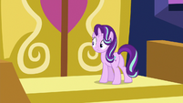 Starlight Glimmer realizes the castle doors are locked S6E25