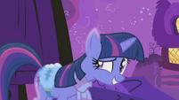 Twilight Sparkle ready a little too early S1E11