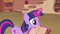Twilight Sparkle with calendar S2E03