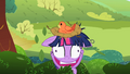 Twilight appears from the bushes S2E3.png